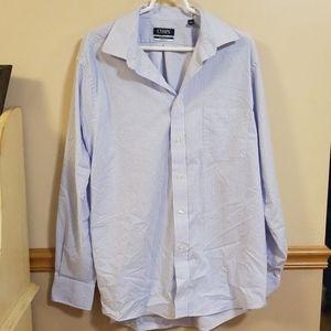Chaps Regular Fit Striped Men's Dress Shirt